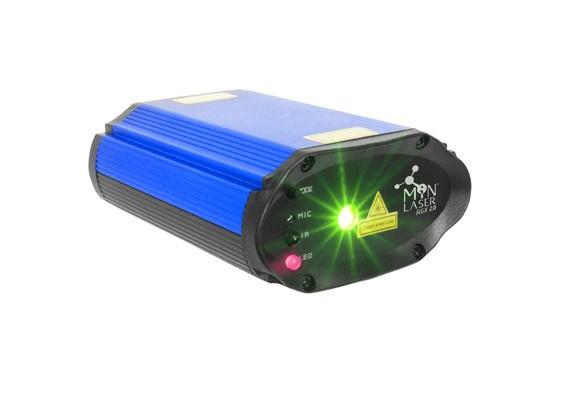Mini Laser com Controle Remoto e Suporte RGX2  CHAUVET