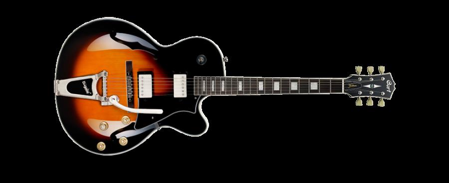 Guitarra Semi-acústica com Bigsby Cort YORKTOWNBVTABB