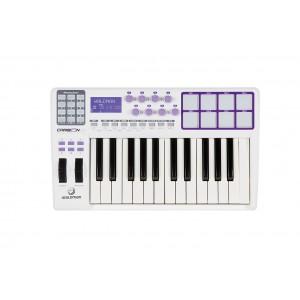 Teclado Master Controlador USB/MIDI 25 Teclas Sensitivas Carbon 25 WALDMAN