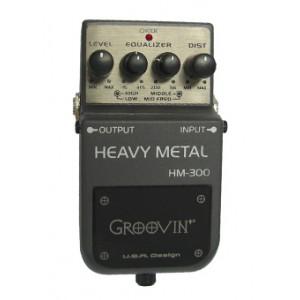 Pedal para Guitarra Distortion HM 300 GROOVIN