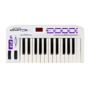 Teclado Master Controlador Kripton 25 USB/MIDI Profissional com 25 Teclas Sensitivas WALDMAN