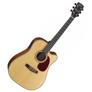 Violão eletroacústico  MR 710F NS (Natural Satin) CORT