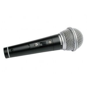 Microfone Dinâmico Cardióide com Case e Cabo  R 21S SAMSON