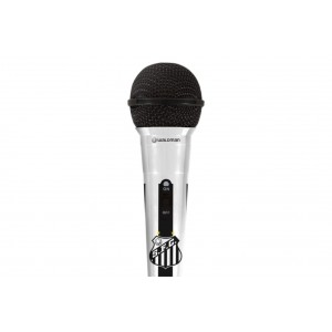 Microfone Oficial do Santos MIC-SAN-10 WALDMAN