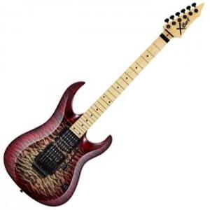 Guitarra Cort X 11QM WRB