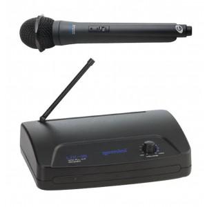 Sistema de Microfone Sem Fio Wireless 16 Canais Bastão UX 16M GEMINI