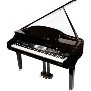 PIANO DIGITAL 88 TECLAS PESADAS 1/4 DE CAUDA MEDELI GRAND 500