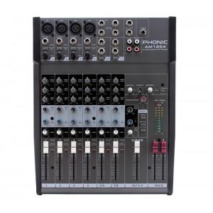 Mixer Analógico 8 Canais AM 1204 PHONIC
