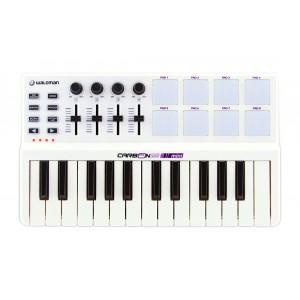 Teclado Master Controlador Carbon Mini 25 USB/MIDI com 25 Teclas Sensitivas WALDMAN