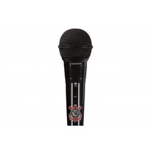 Microfone Oficial do Corinthians MIC COR 10 WALDMAN