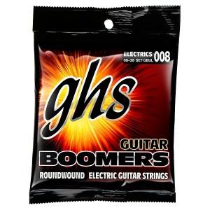 Jogo De Cordas P/ Guitarra 08 Ghs Boomers Gbul