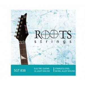 Encordoamento para Guitarra SGT 838 008-038 6 Cordas  ROOTS