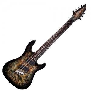 Guitarra 7 cordas Cort KX 500FF SDB