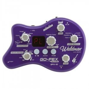 Pedaleira Multi-Efeitos para Guitarra GO-FEX GFX-10 WALDMAN