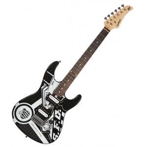 Guitarra Oficial do Santos GTU-1/SAN WALDMAN