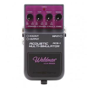 Pedal para Guitarra Acoustic Multi-simulator Stage FX ACS-1 WALDMAN