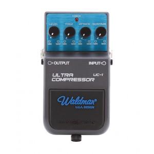 Pedal para Guitarra Ultra Compressor  UC-1, Linha Stage FX WALDMAN