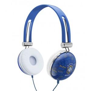 Fone de Ouvido da Seleção Brasileira Azul Soft Gloves SG-10-CBF/BL WALDMAN