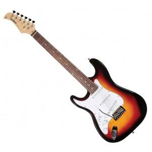 Guitarra Elétrica Canhota Street  Series ST 111LH SB  WALDMAN