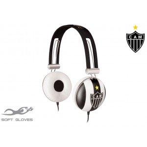 Fone de Ouvido Atlético Mineiro Soft Gloves SG-10/ATM WALDMAN